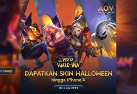 Event Halloween AOV Memberikan iPhone X Sebagai Hadiah Utama