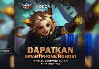 Event Thanksgiving Mobile Legends Membagikan Berbagai Hadiah Dan Kejutan Menarik