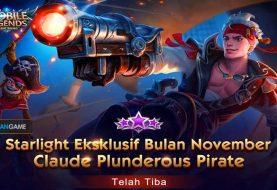 Inilah Penampilan Skin Ekslusif Starlight Member Hero CLoude Mobile Legends