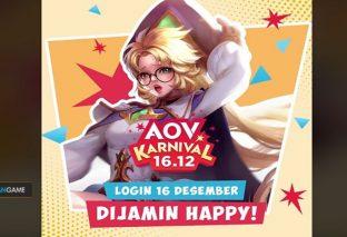 Jangan Lewatkan Event AOV Karnival Cukup Login Langsung Dapat Hadiah