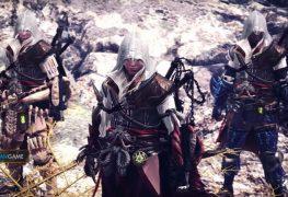 Game Monster Hunter World Mengumumkan Akan Berkolaborasi Dengan Assassin's Creed