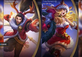 Inilah Penampilan Skin Special Zilong dan Freya Edisi Natal Mobile Legends