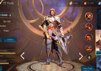 Inilah Penampilan Dari Hero Yorn Arena of Valor Setelah Dirework