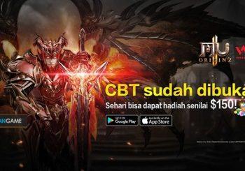 Game Mobile MU ORIGIN 2 Bagikan Hadiah Sebesar 150$ Pada Masa CBT