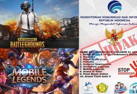 Kominfo Ungkap Hoax Pemblokiran Game PUBG dan Mobile Legends