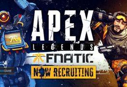 Fnatic Membuka New Recruiting Untuk Divisi Apex Legends