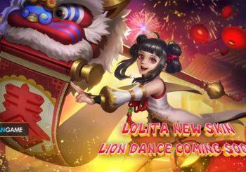 Inilah Penampilan Skin Terbaru Hero Tank Lolita Mobile Legends Edisi Imlek